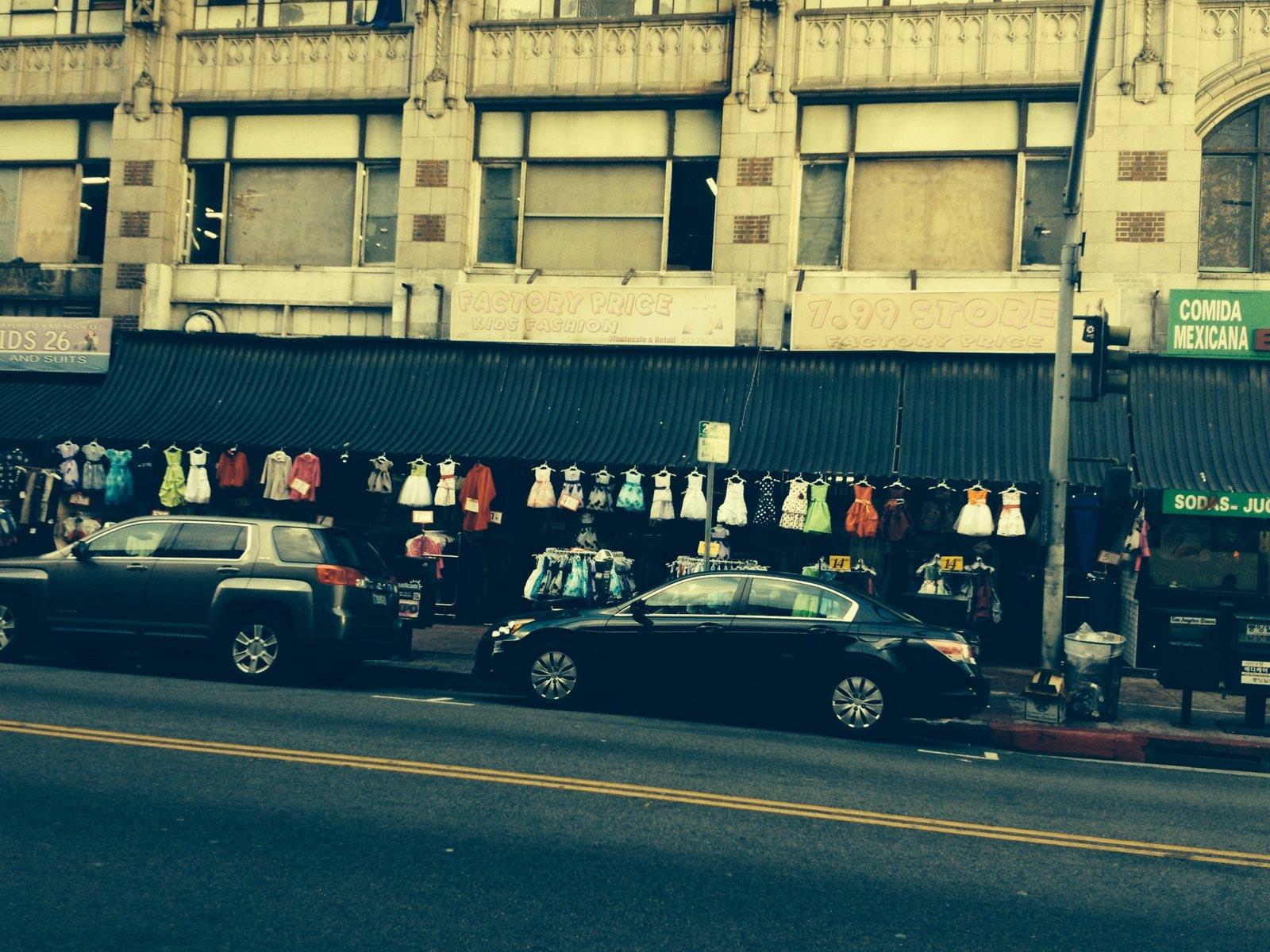 Los Angeles Fashion District Santee Alley