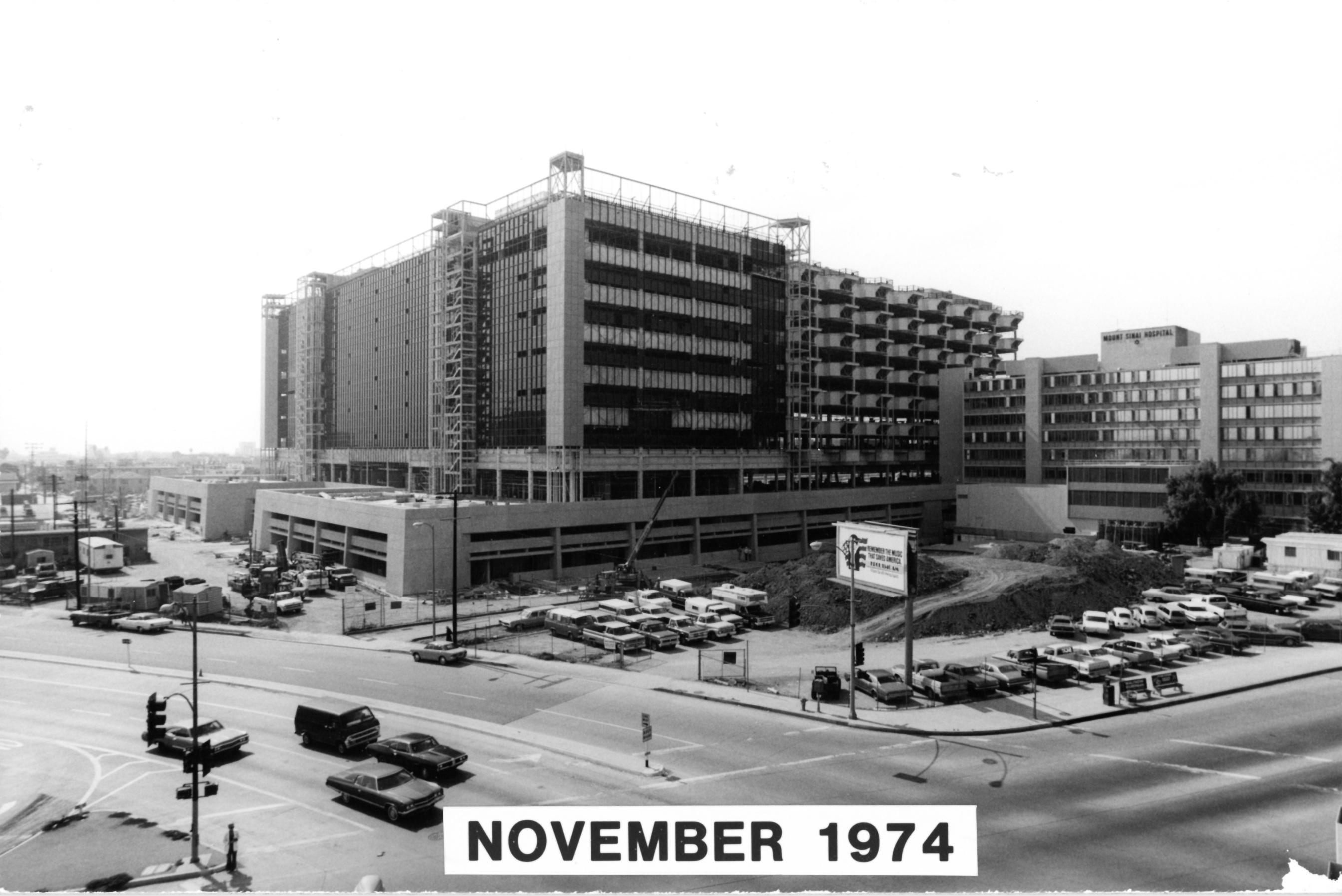 Cedars-Sinai Medical Center, 1961