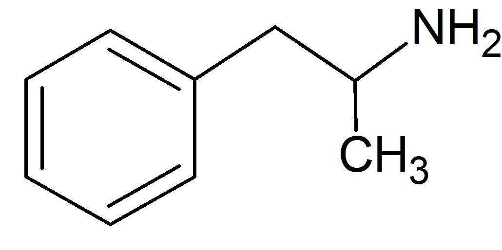 Methamphetamine molecule
