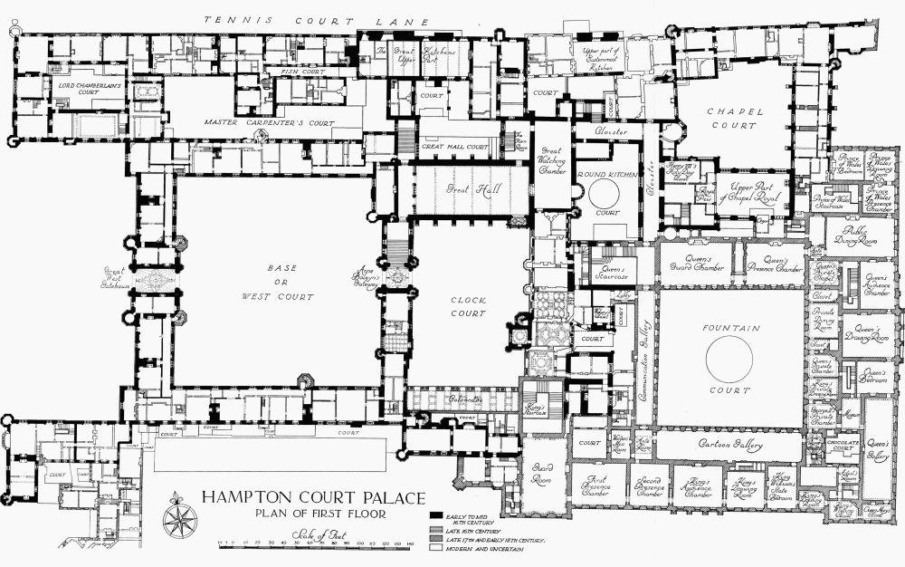 hampton court plans. Black Bedroom Furniture Sets. Home Design Ideas