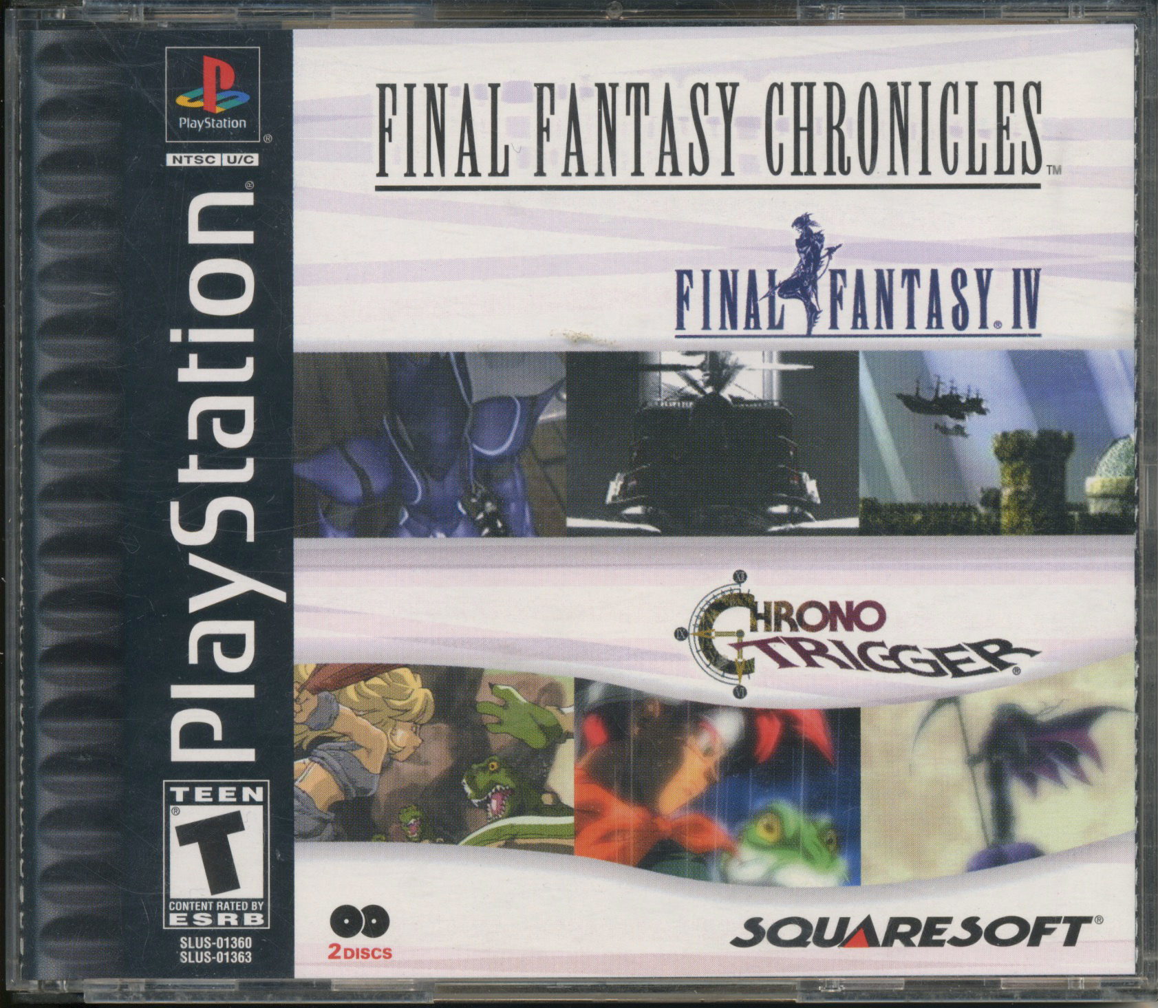 Chrono Trigger PS CD Case Front