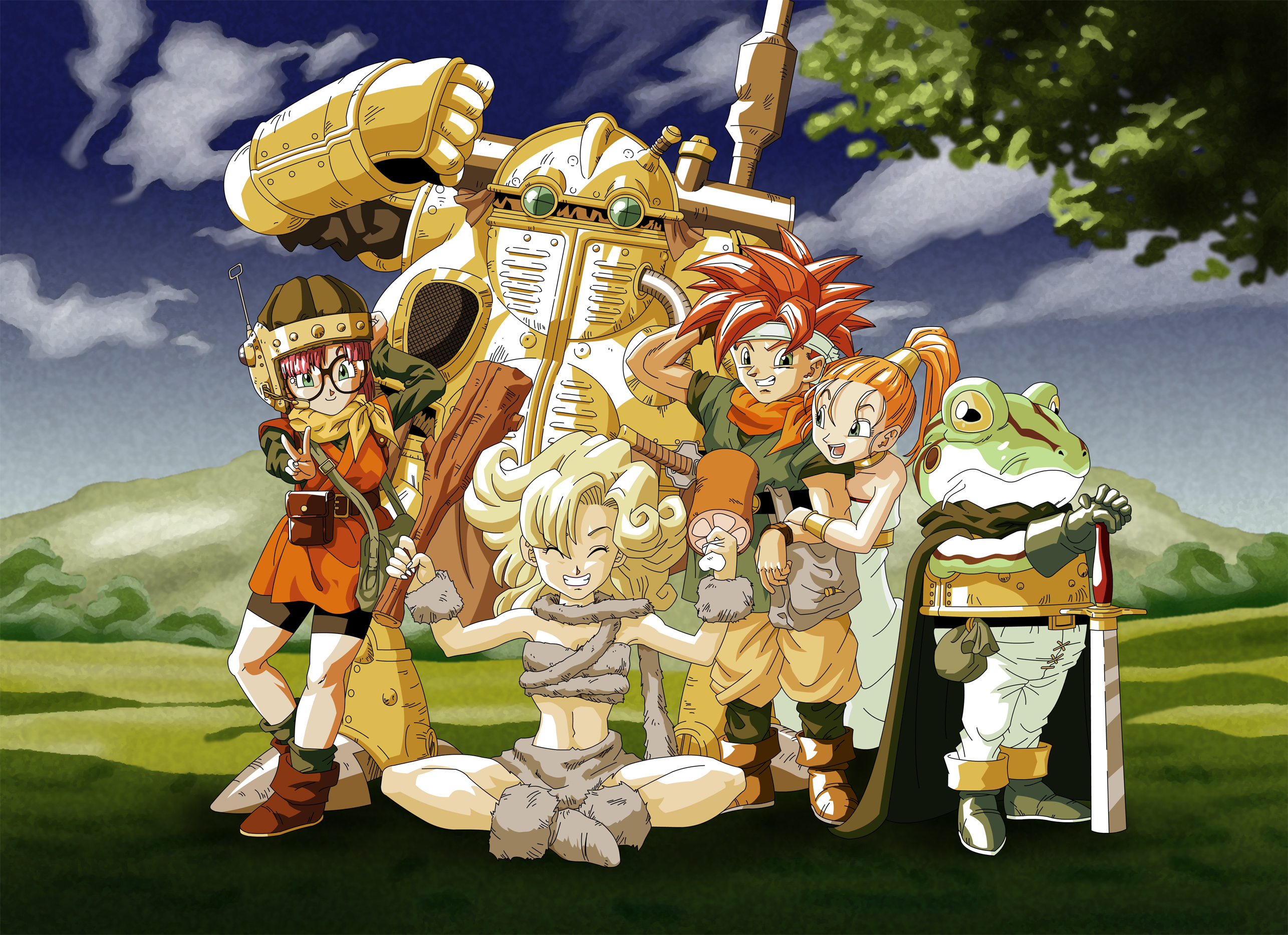 Patch Chrono Trigger Ds Gameplay