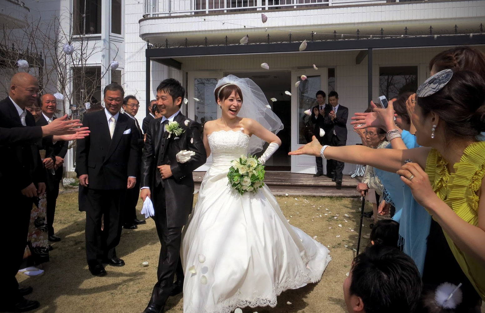 Sophisticated Contemporary Wedding Ceremony In: Modern Western-Style Japanese Wedding Ceremony