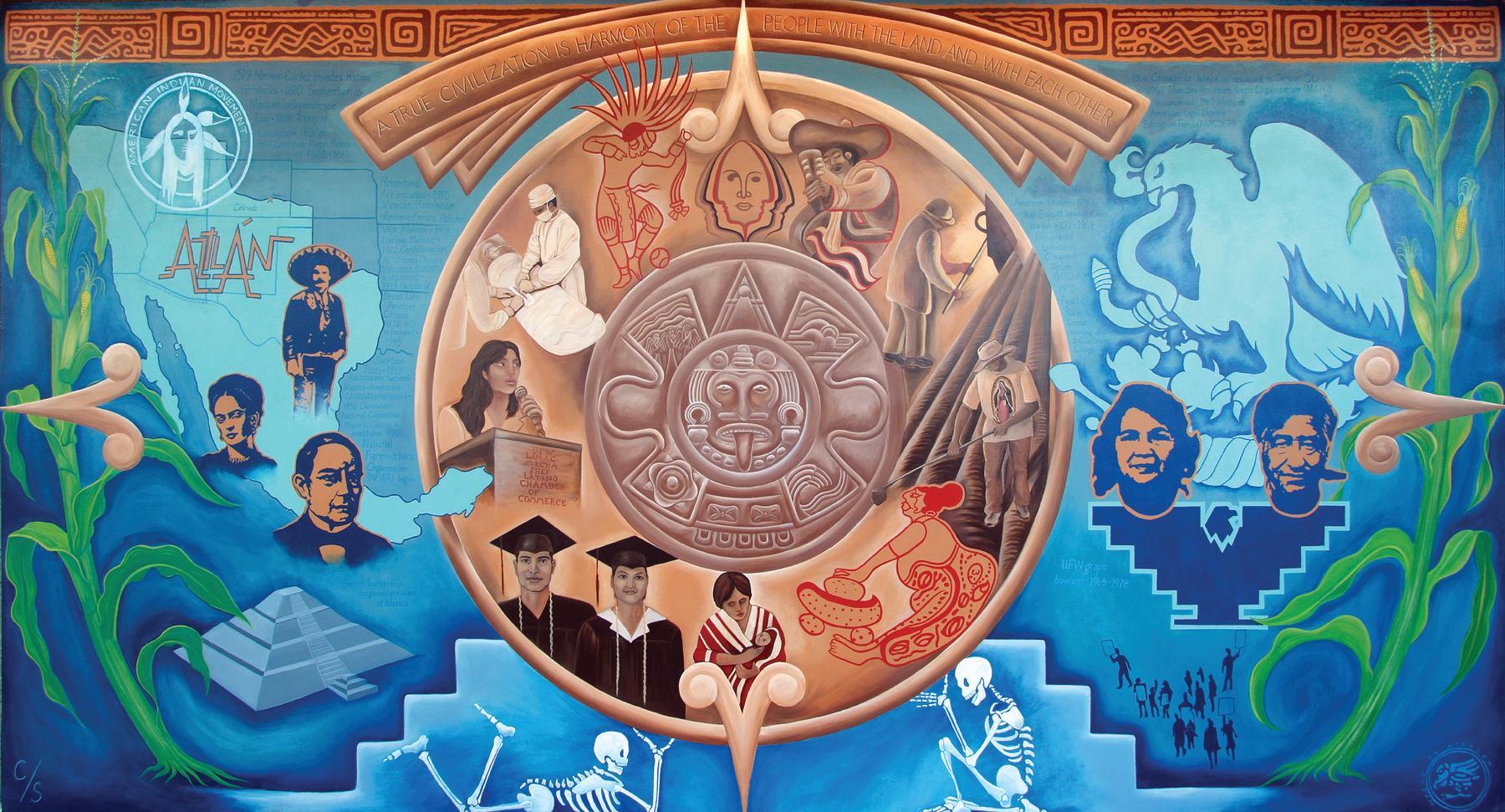Colorado chicano movement for Chicano mural movement