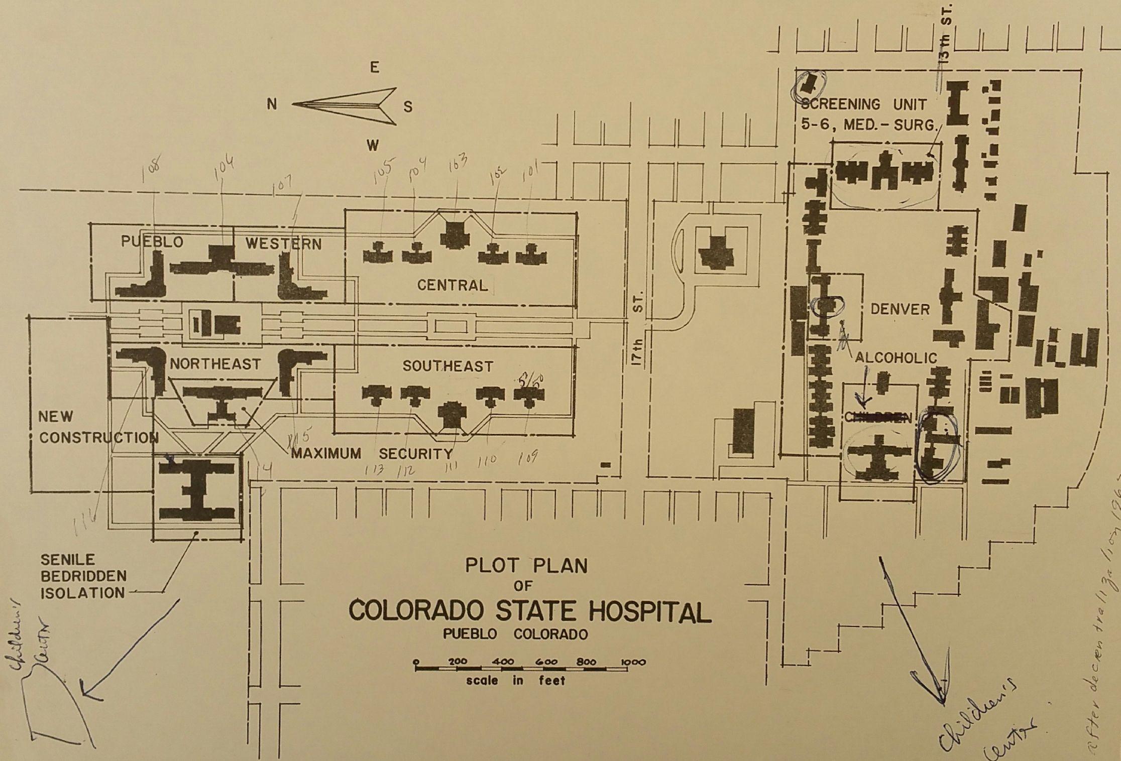 Maps Denver Health Hospital Map on