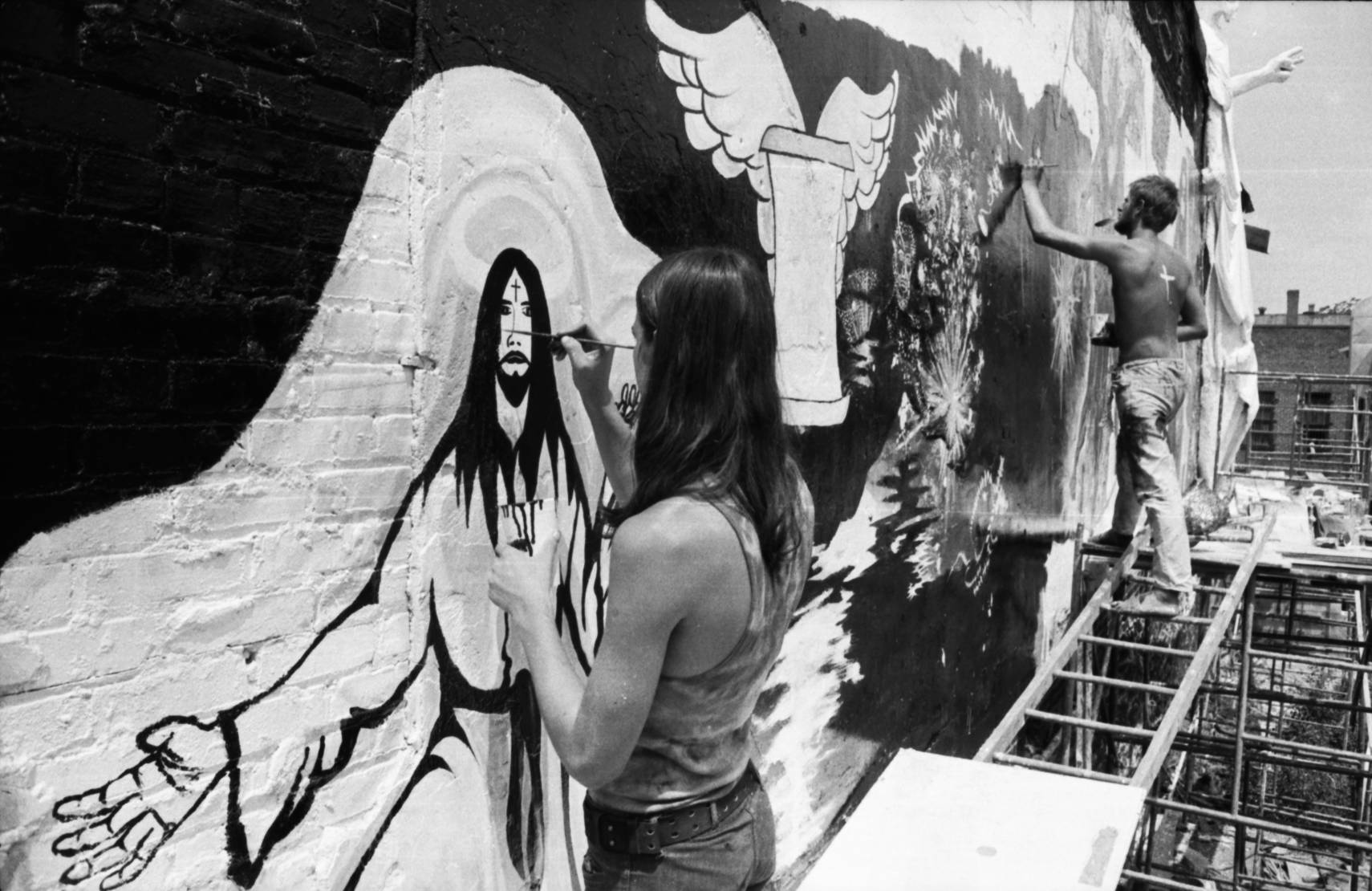 Hippie graffiti art 1