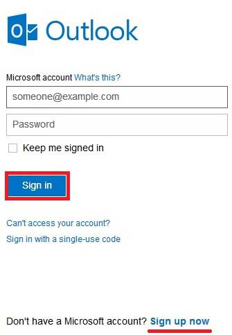 Hotmail email account sign in, Msn Hotmail login mail ...