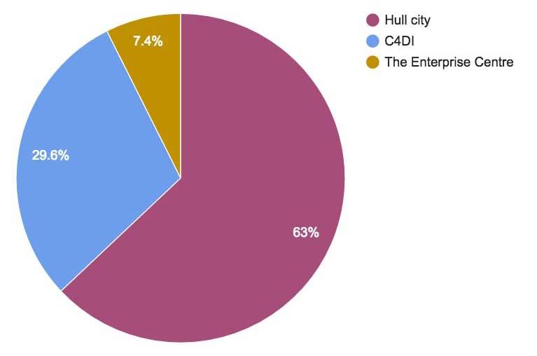 Hub Pie Chart