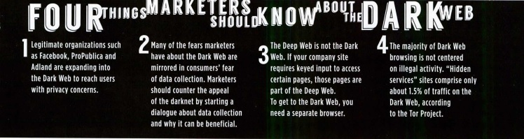 Marketing on the Dark Web