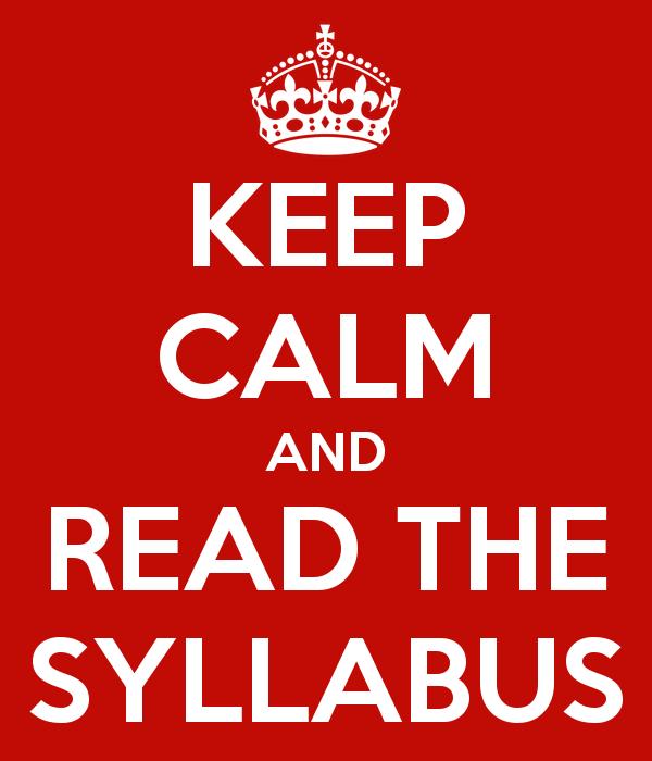 Resultado de imagen para syllabus