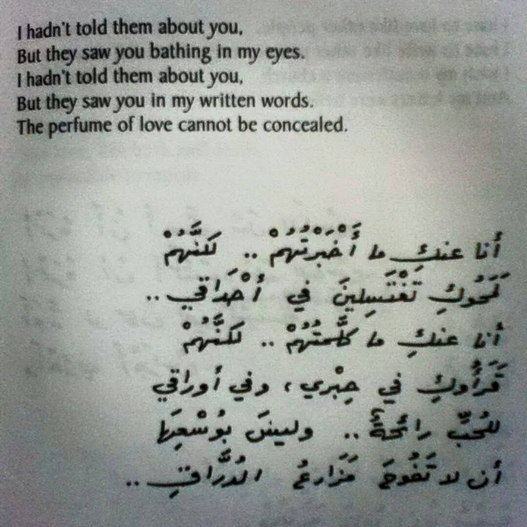 Translations Into Italian: Example Of Classical Arabic Poetry