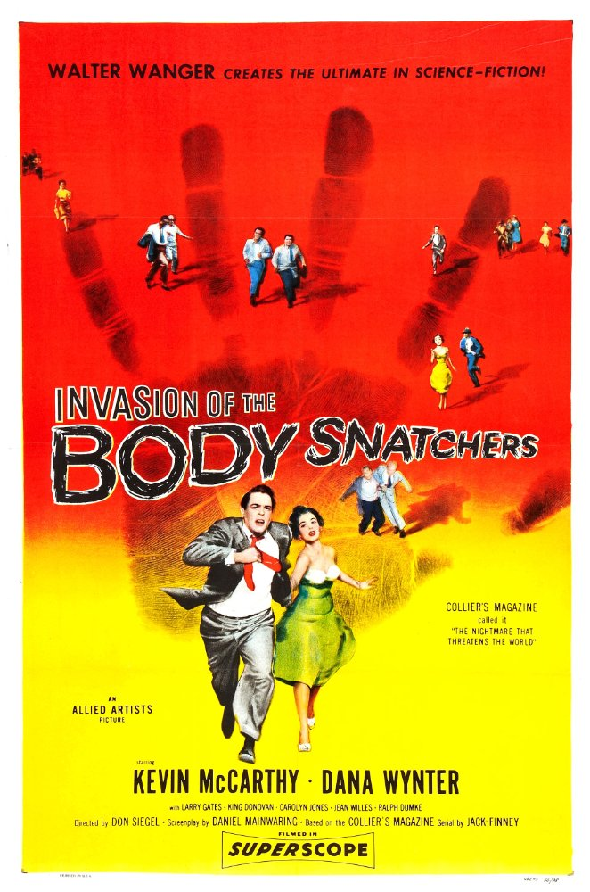 Invasion of the Body Snatchers(1956)  movie poster