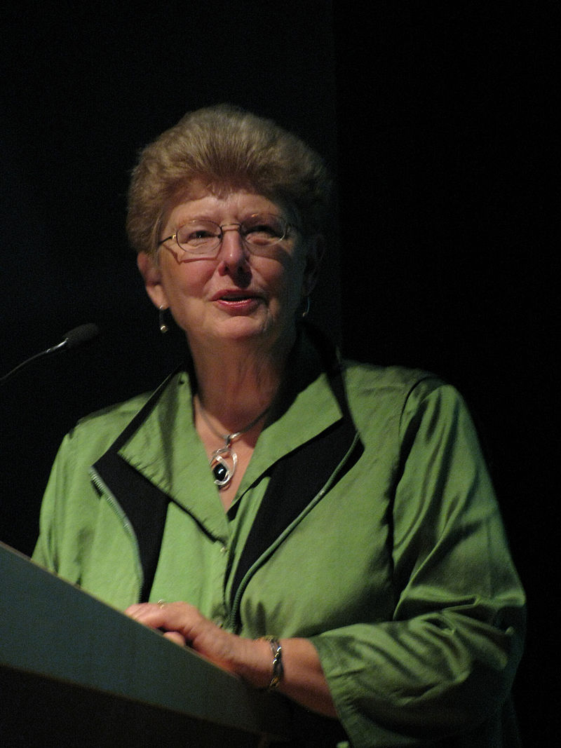 """N. Katherine Hayles, author of \""""How We Became Posthuman\"""""""