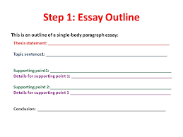 Good essay formats for the english regents