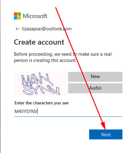 Hotmail sign up create account from PC