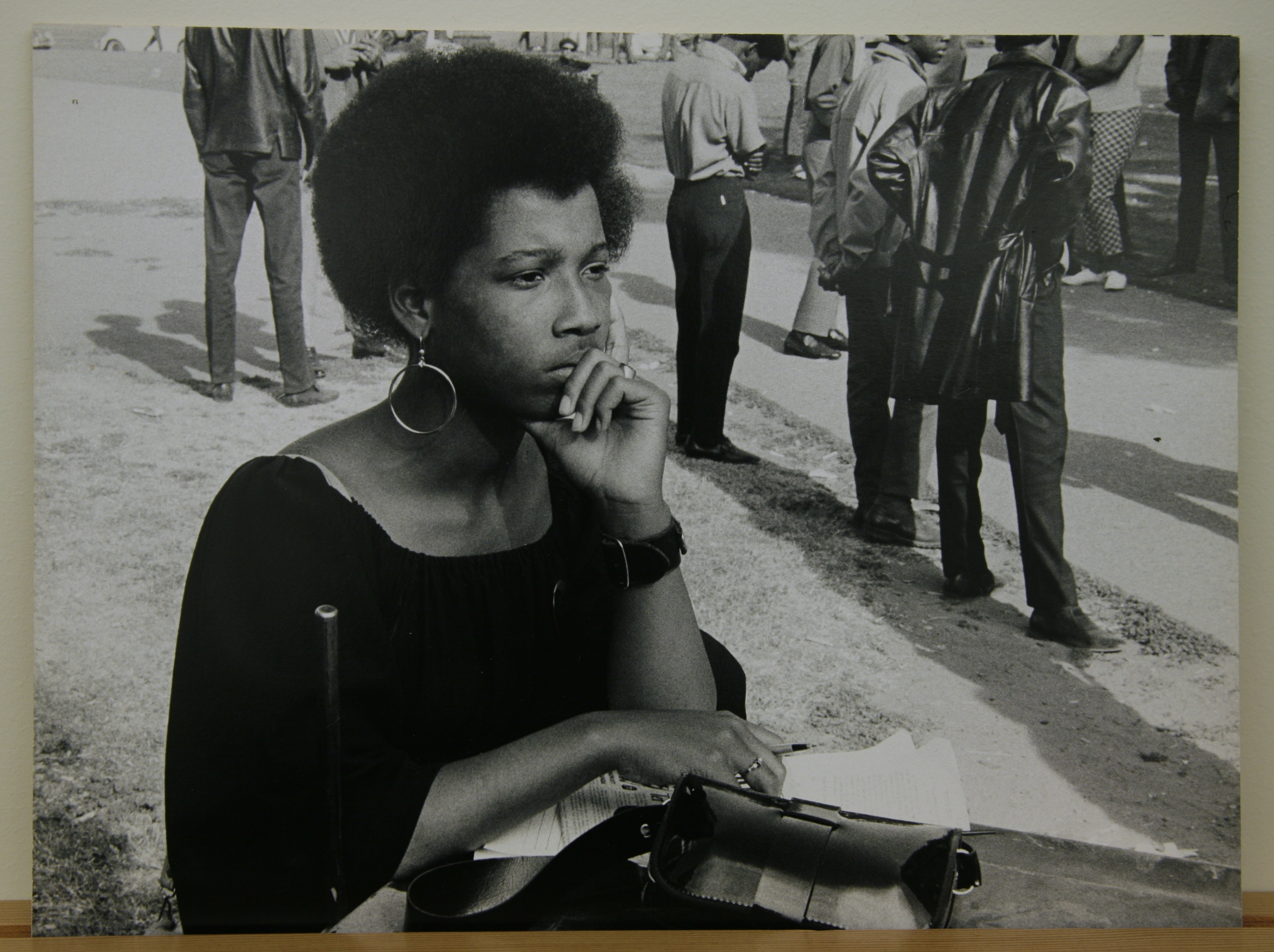 the vanguard a photographic essay on the black panthers