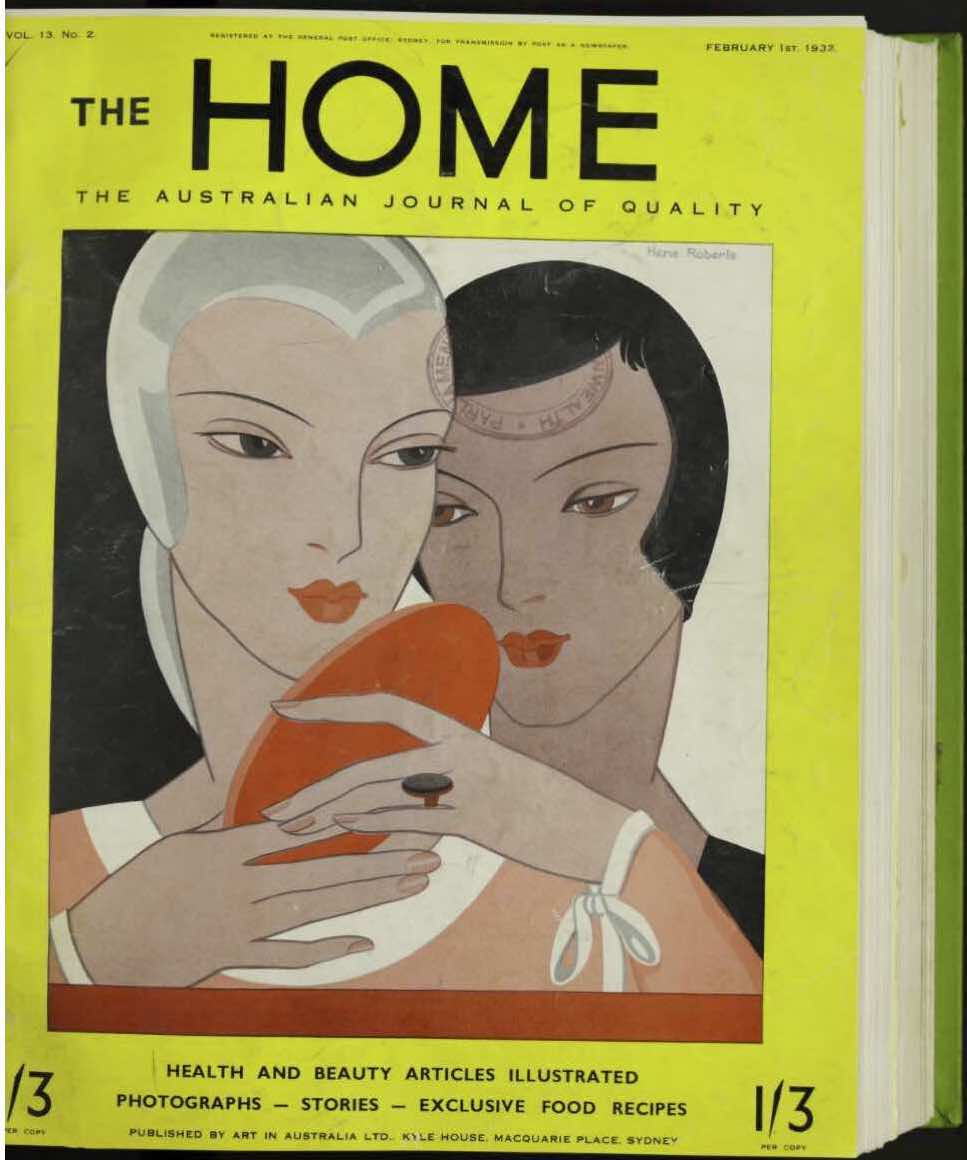 Fig 1 The Home An Australian Quarterly Vol 13 No 2 February 1932 Image Courtesy Of