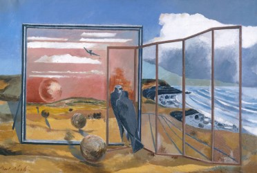 Fig 6 Paul Nash Landscape From A Dream 1936 1938 Oil On Canvas 75 4 X 88 3