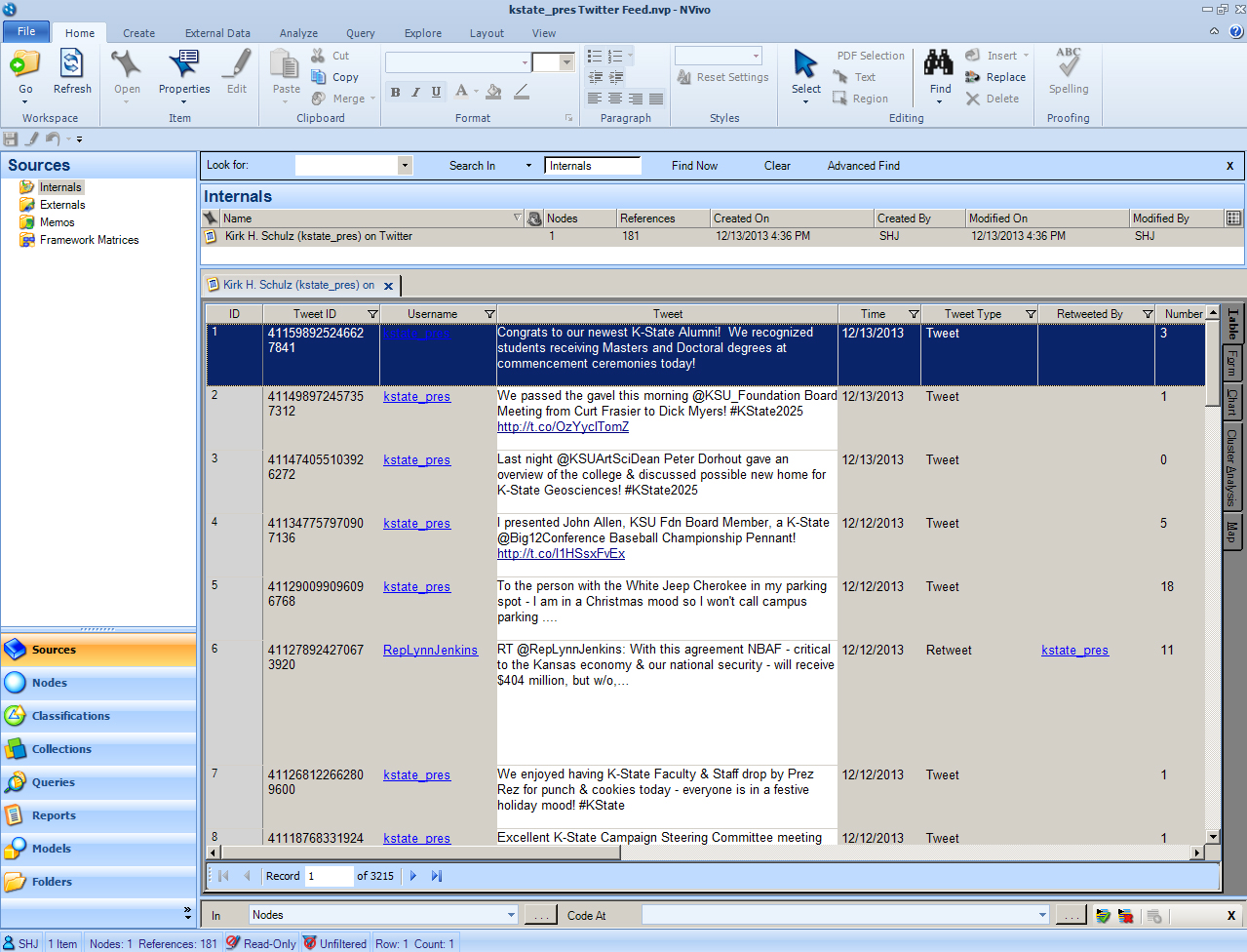 NVivo for your literature review  online tutorial