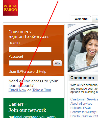 Wells Fargo Auto Loan Login >> Wellss Fargo Auto Dealer Services Login | eServices Login ...